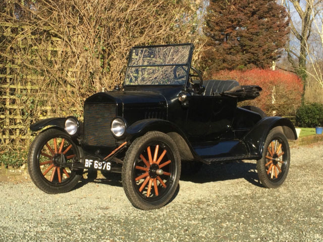 Beautiful Vintage1924 Ford Model T 2 Seat Roadster Rare ROCKY MOUNTAIN BRAKES