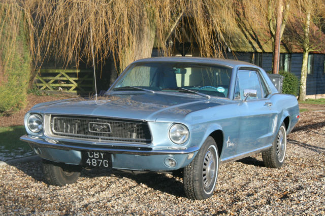 Ford Mustang 289 V8 Coupe Auto. Lovely,Original Example