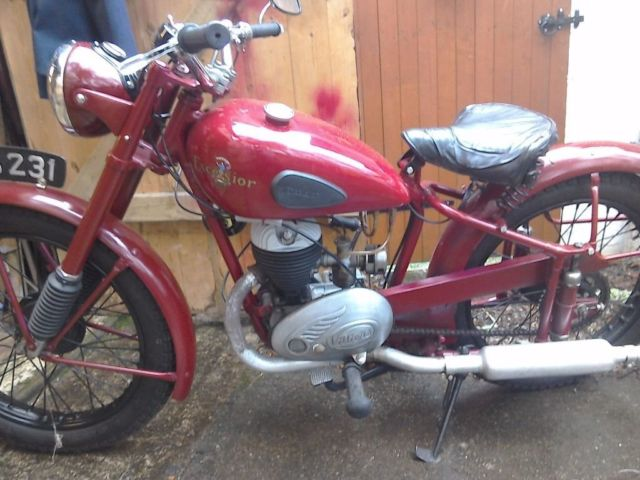 1951 Excelsior Roadmaster 197cc 2 stroke classic motorcycle Tax and MOT exempt