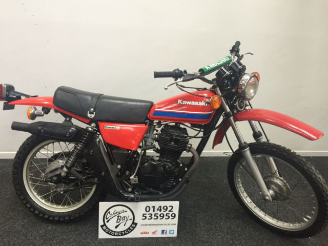 1978 Kawasaki KL250 246cc A4 Dual Purpose A4, Trail Riding, KL Classic