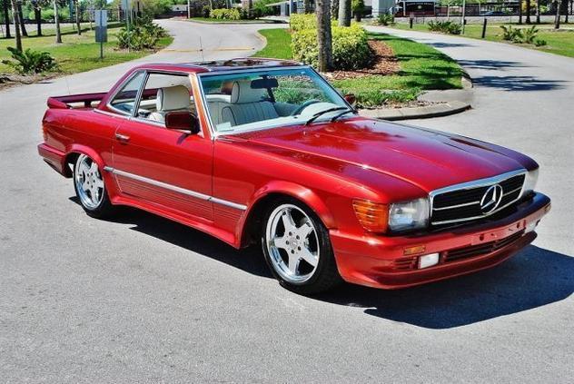 mercedes-benz 500SL custom