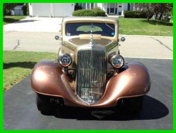 1934 Pontiac 603 Touring Sedan Suicide Rear Doors New Instruments Original Body