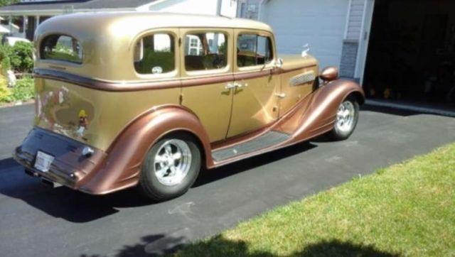 1934 Pontiac 603 Touring Sedan Suicide Rear Doors New