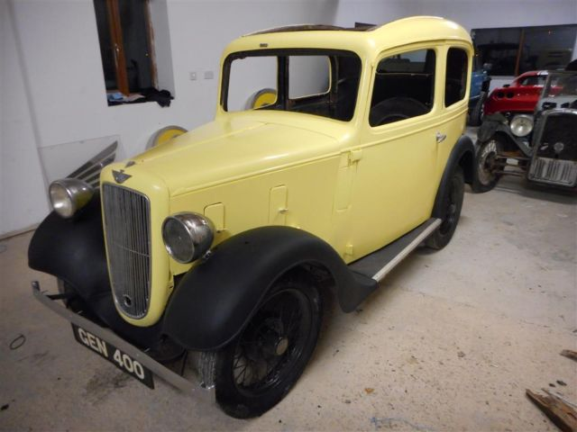 1937 Austin 7 ruby,BARN FIND,garden ornament,hot rod,or restore,spares or repair