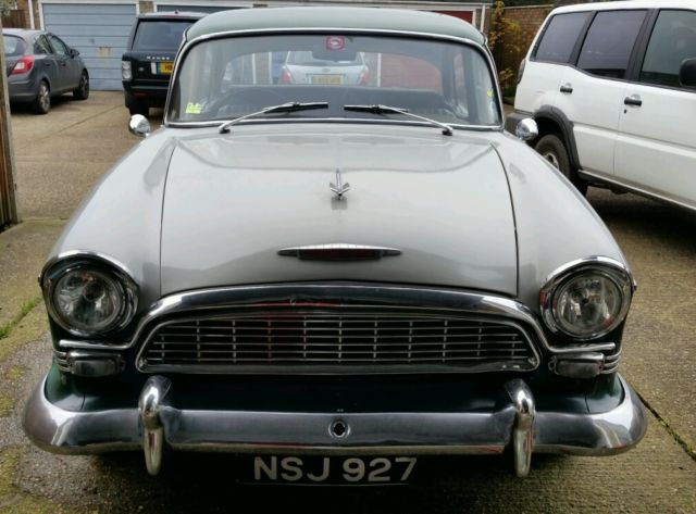 1958 Humber Super Snipe Series 1 Tax and Mot exempt