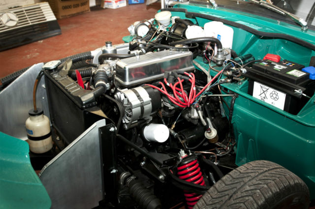 1972 Triumph Spitfire (1500) Award-winning restoration.