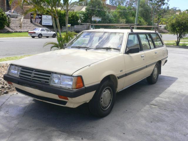 1982 Mitsubishi Sigma Wagon