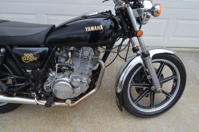1978 Yamaha SR500 - Aussie Delivered