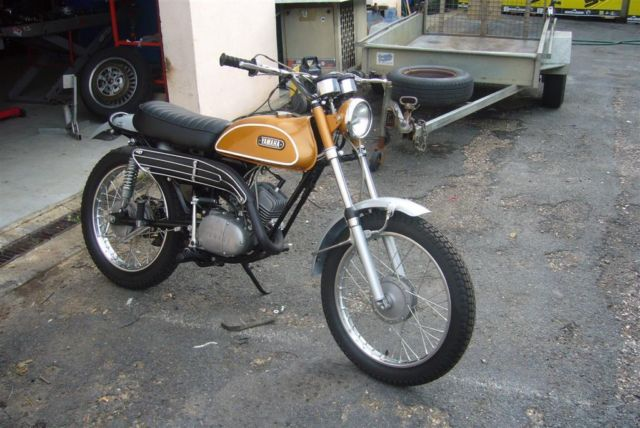 Yamaha AT1E 1968 AT1 Vintage Trail Bike