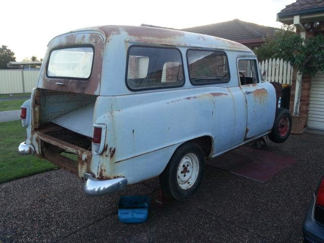 holden FB panel van