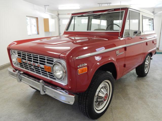 1970 Ford Bronco Sport