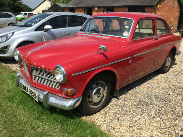 1969 VOLVO 122 S RED