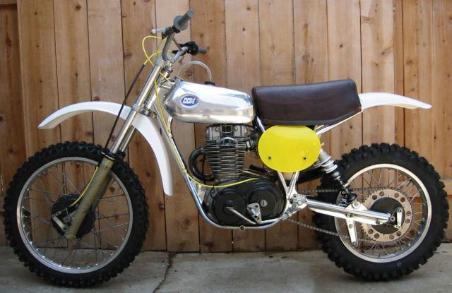1977 BSA CCM 500 MX