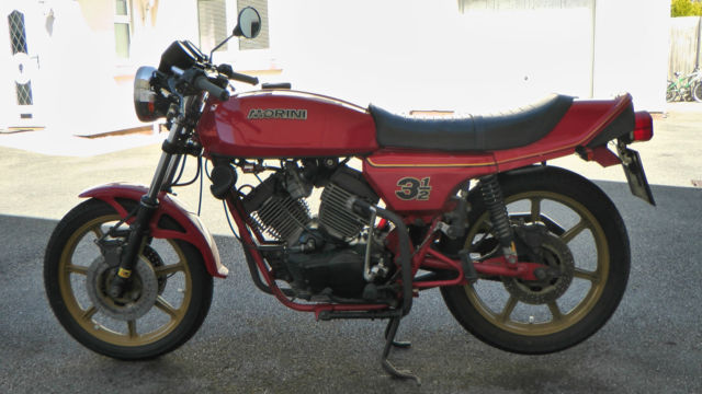 1983 Moto Morini 350 Sport Triple Disc