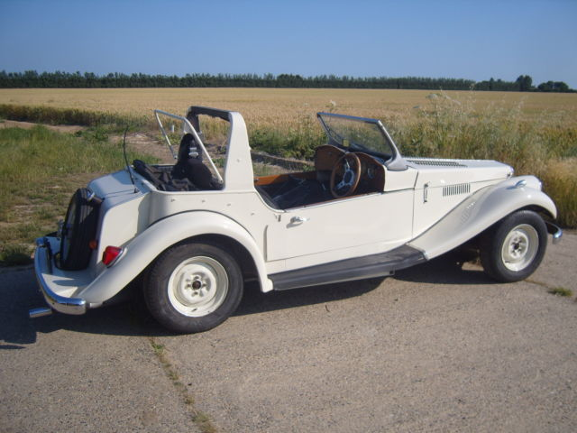 1968 spartan triumph viteese based kit car tax exempt light project