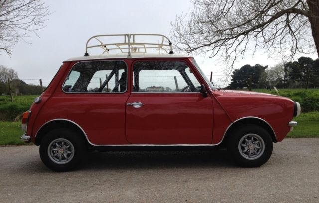 1979 classic Leyland Mini Clubman