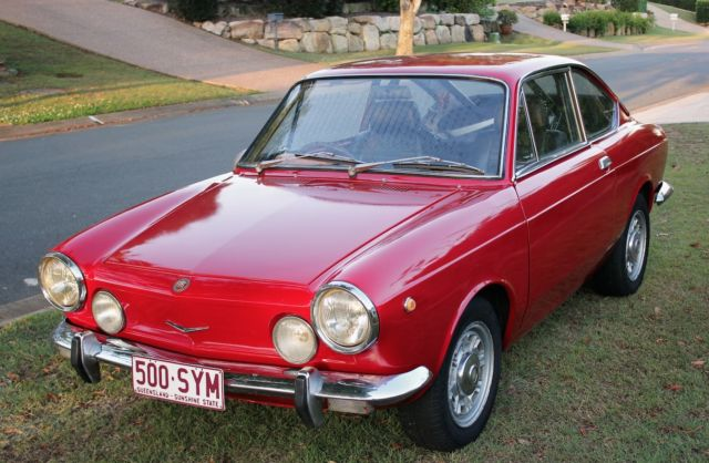 Fiat 850 S (1968) 2D Coupe Manual (843 cc - Carb) Seats