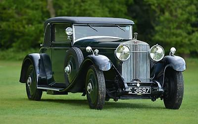 1927 Hispano Suiza H6B Park Ward foursome Coupe