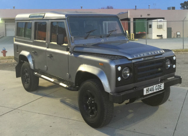 1990 Land Rover Defender 110, 2 5 TDI, new paint, new