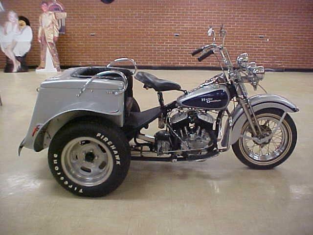"""Harley Davidson: 1953 Harley-Davidson Servi-Car, Model """"G"""", For Sale Mebane"""