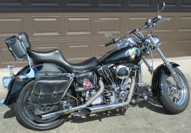 Custom Built 1974 Harley-Davidson FXE Shovelhead For Sale Gretna