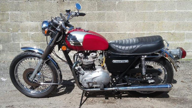 1978 Triumph Trophy 750 5-speed