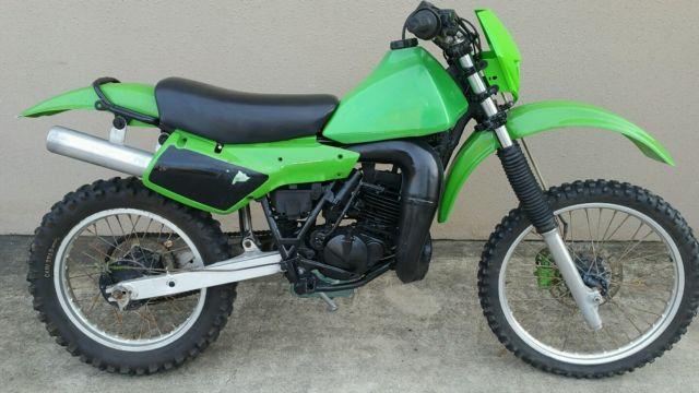 Kawasaki KDX 200 B 10/1983 Vinduro/VMX