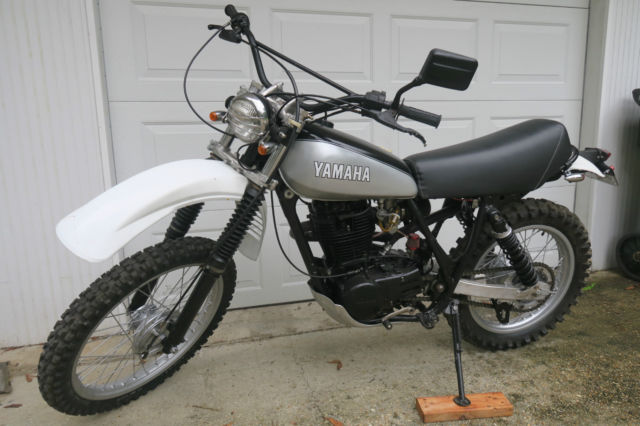 "1980 Vintage Yamaha TT500G. Restored and titled as ""on road"" vehicle."