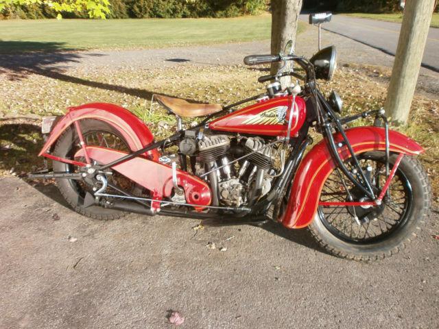 Indian Chief 1937 Vintage Antique Prewar For Sale Mirabel Quebec Canada Automotoclassicsale Com