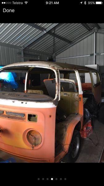 VW Kombi Camper