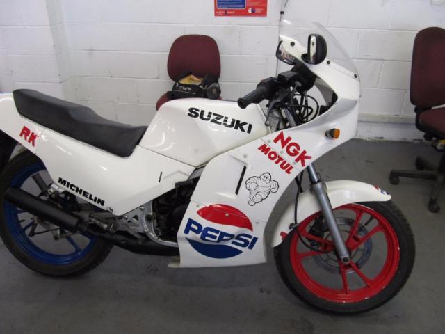 Suzuki RG125 123cc UJ2 Gamma Sports UJ2 Gamma