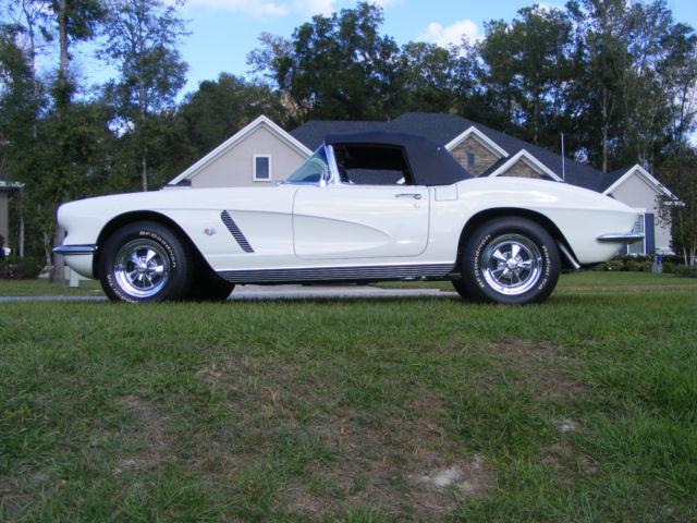 1962 Corvette, owned 52 years & Fully restored