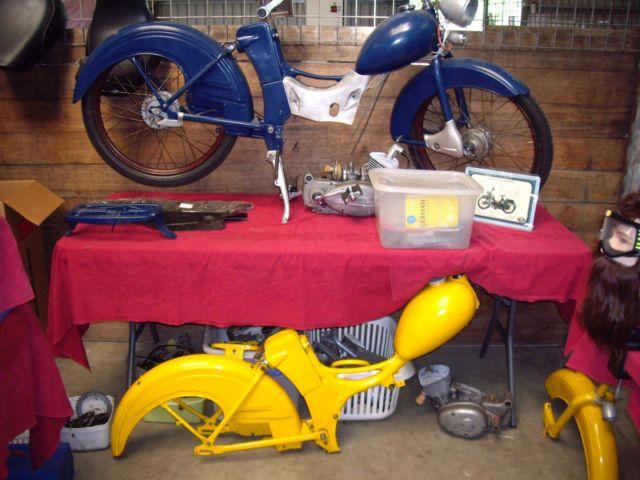 vintage moped Simson SR2E