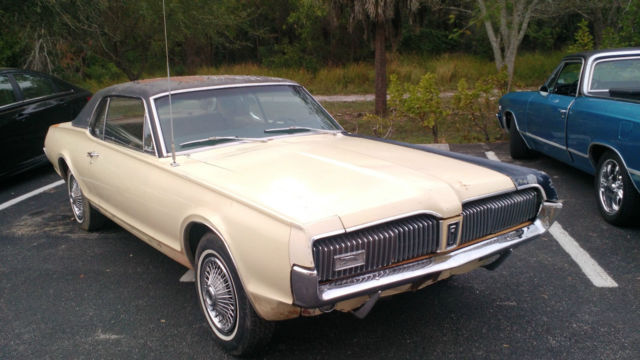 MERCURY COUGAR XR7 1967, ford mustang runing gear, V8, Muscle car