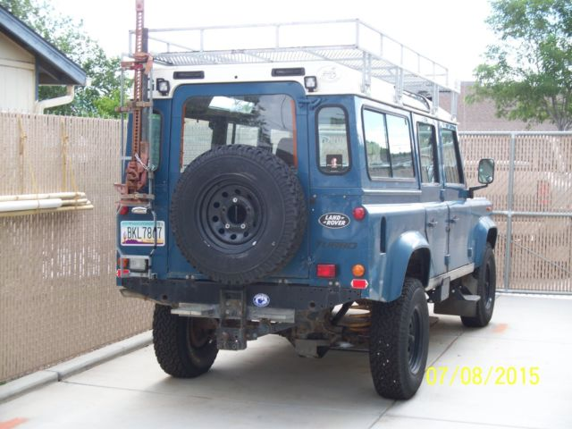 1987 British Land Rover Defender 110