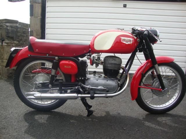 BIANCHI Tonale 175cc classic Italian Motorcycle