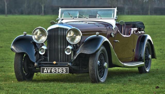 1934 Bentley Derby 3 1/2 Litre Vanden Plas Style Tourer