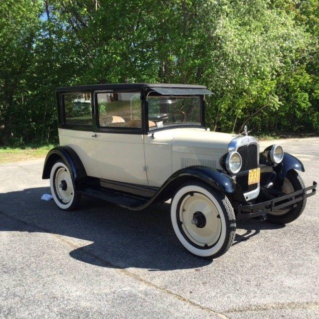 1927 Chevrolet Capital 2800 miles!  Fully restored.