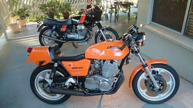 Very rare Laverda Montjuic motorcycle