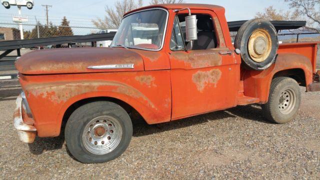 1962 Ford shortbed stepside
