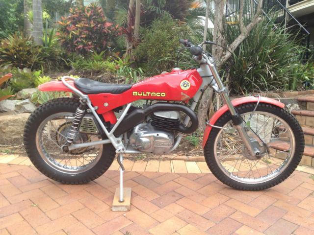 1975 Bultaco Sherpa T 326 Trials Bike
