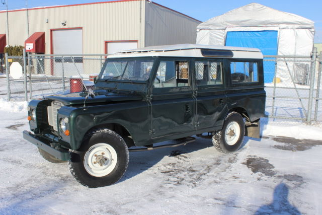 1969 Land Rover Serie IIA Station Wagon