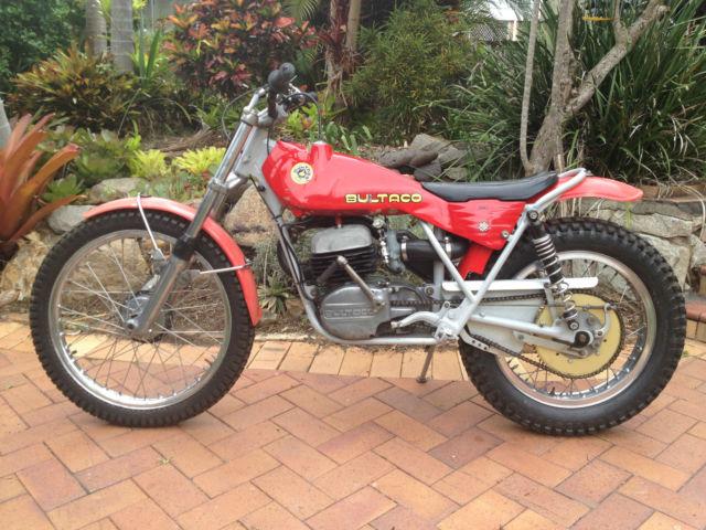 1975 Bultaco Sherpa T 350