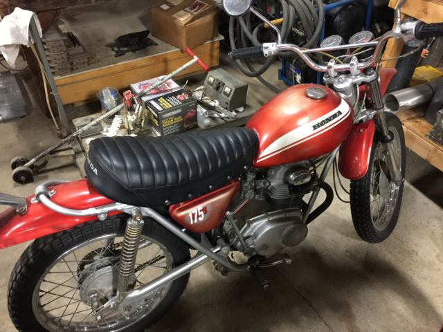 "1971 HONDA SL175 Great Condition ""Not too many left"""