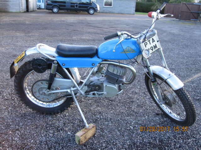 COTTON CAVALIER 170 MOTORI MINARELLI TRIAL BIKE LONG DISTANCE MODEL