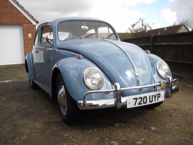 1961 Classic VW Beetle fully restored