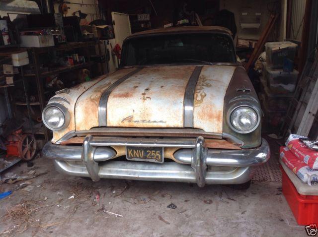 1956 Pontiac chev  hot rod classic