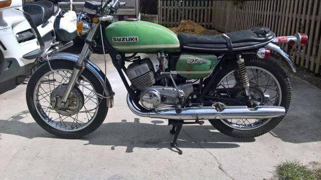 Suzuki t 250 twin shock