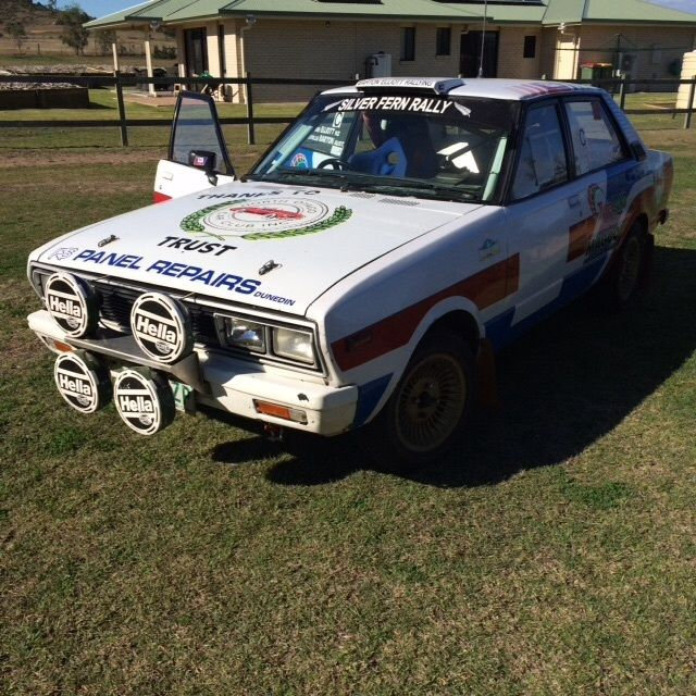 Datsun Stanza Rally Car For Sale Lowood Qld Australia