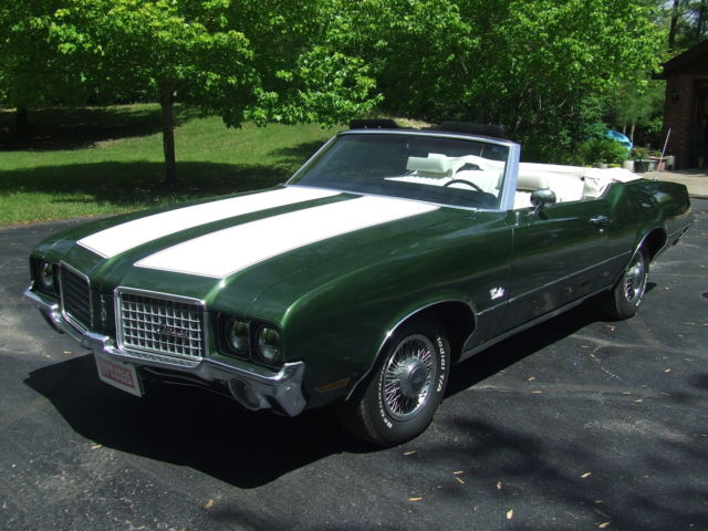 Nice Cutlass S Convertible